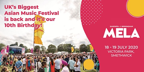 Birmingham Mela 2021 tickets