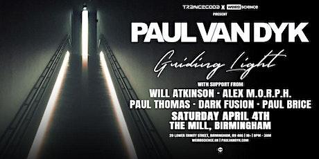 Paul Van Dyk Guiding Light Tour / Trancecoda & Weird Science tickets
