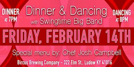 Swingtime Big Band Valentine Dinner Dance tickets