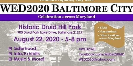 Wed2020 Baltimore City tickets