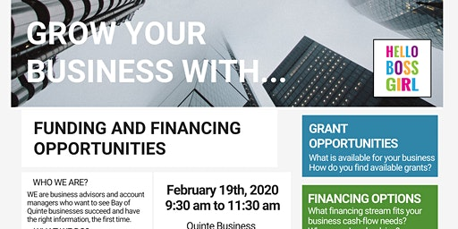 Grow your business with... Funding and financing opportunities