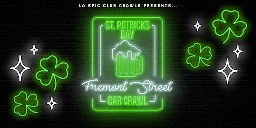 2020 St Patrick's Day Fremont Street Bar Crawl
