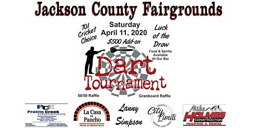Jackson County Fairgrounds Dart Tournament