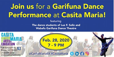 Garifuna Dance Performance at Casita Maria