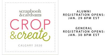 Crop & Create Calgary 2020 tickets