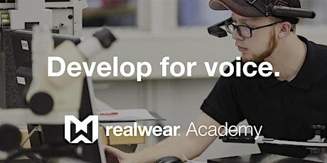 RealWear Developer Academy (HMT included) tickets