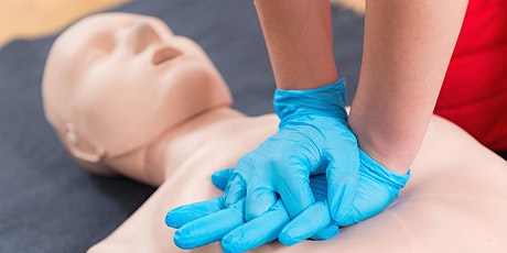 Red Cross Basic Life Support (BLS) Training tickets