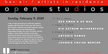 BAX AIR Open Studios February 9 tickets
