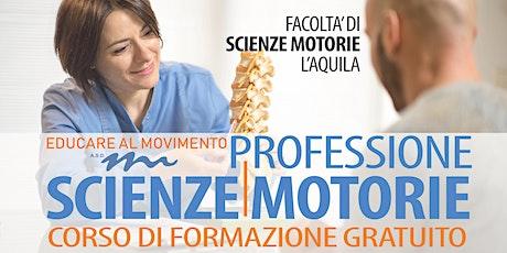 PROFESSIONE SCIENZE MOTORIE biglietti