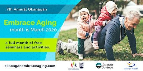 Aging: A lifelong process tickets