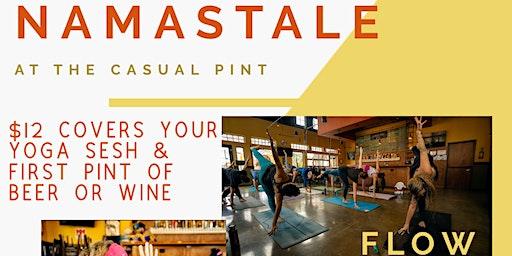 NamastALE - Sunday Yoga at The Casual Pint