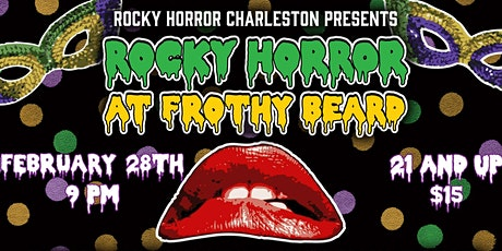 Rocky Horror Picture Show Mardi Gras tickets