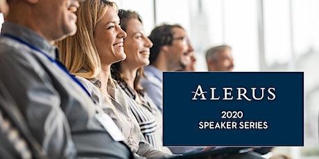 Alerus 2020 Speaker Series tickets