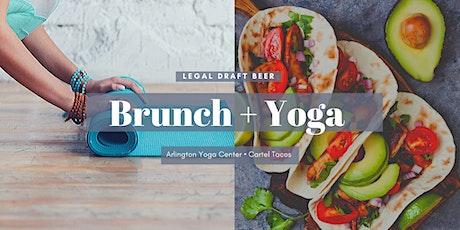 Brunch + Yoga at Legal Draft  tickets