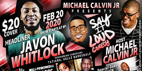 Say It Loud Comedy tickets