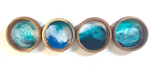 Ocean Resin Bowls (Maui)