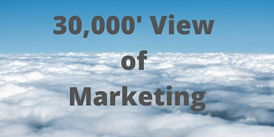 30,000 Foot Overview of Marketing