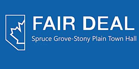 Spruce Grove-Stony Plain Fair Deal Town Hall tickets
