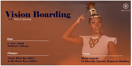 Vision Boarding with Prisca Ojwang' tickets