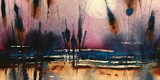 Watercolor Intermediate Workshop - Loose Landscapes with Suzi Vitulli