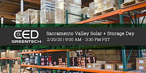 Sacramento Valley Solar + Storage Day
