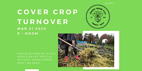 Cover Crop Turnover 2020 tickets