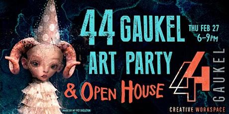 44 Gaukel Art Party & Open House tickets