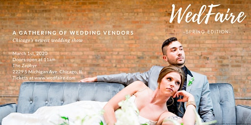 WedFaire -- Spring Edition
