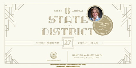 6th Annual State of the District Luncheon tickets