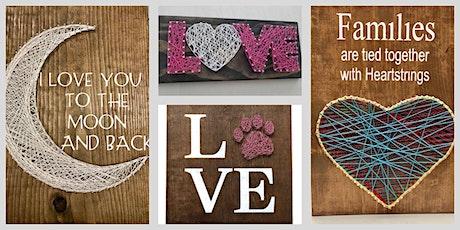Love & Heart String Art Workshop-2 tickets