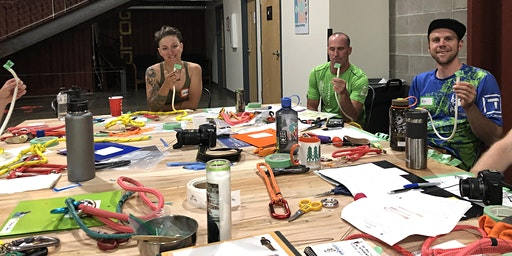 Fids&Fibers Colorado Springs 2020  rope splicing workshop