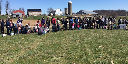 Easter Egg Hunt on the Farm AGE 4-7 only 1:30 hunt time
