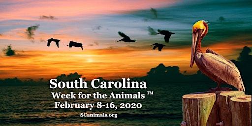 South Carolina Week for the Animals February 8-16, 2020.