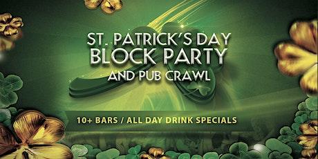 San Diego St. Patrick's Day Block Party & Pub Crawl! tickets