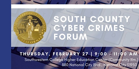 South County Cyber Crimes Forum tickets
