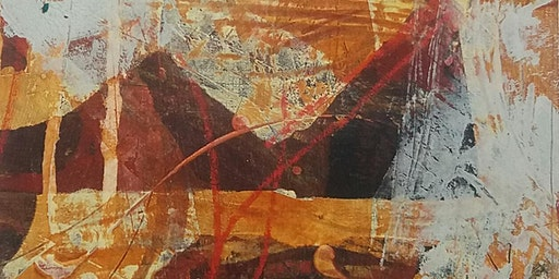 Pushing Paint; 22/23 June  - 2 day workshop using  Oil and Cold Wax Medium