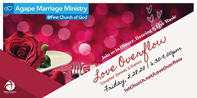 Love Overflow (Couples Dinner & Dance) at First Church