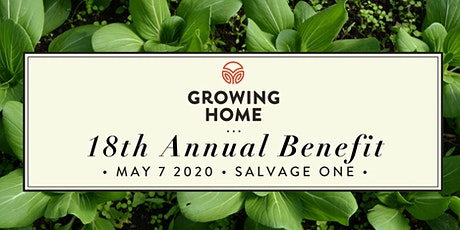 Growing Home 18th Annual Benefit tickets