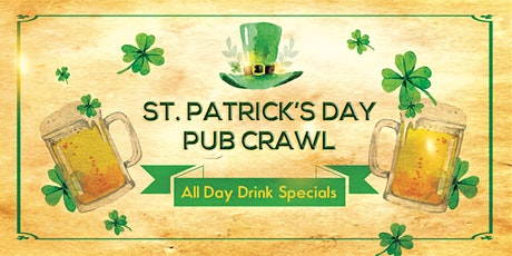Pacific Beach St. Patrick's Day Pub Crawl! tickets