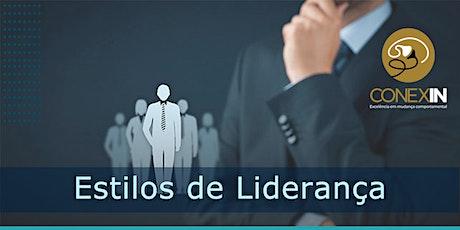 Workshop - Estilos de Liderança ingressos
