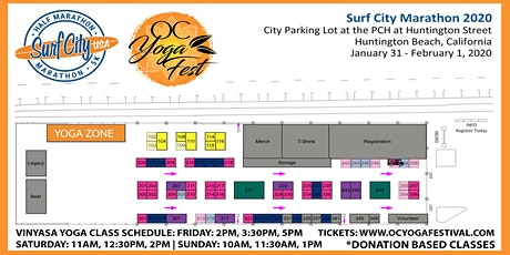 Yoga Classes @ Surf City Marathon tickets