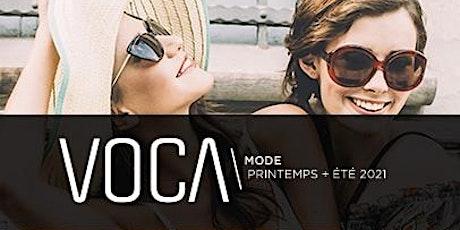 VOCA mode Printemps+Été 2021 billets