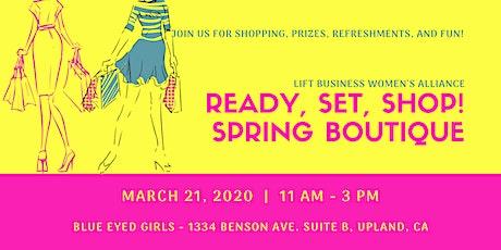 Ready, Set, Shop! Spring Boutique 2020 tickets