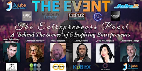 "THE EVENT ""The Entrepreneurs Panel"" Behind The Scenes tickets"