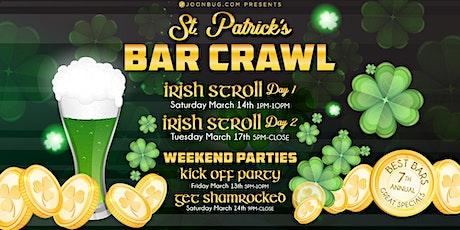 Barcrawls.com Presents New York St. Patrick's Day Bar Crawl Day 1 tickets