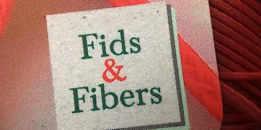 Fids&Fibers at AtlanticBraids! 2020  rope splicing workshop