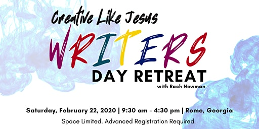 Creative Like Jesus Writers Day Retreat