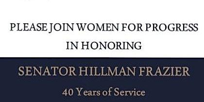 Lunch Honoring Senator Hillman Frazier