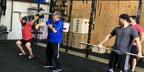 Forest City CrossFit Cohen Weightlifting Seminar tickets