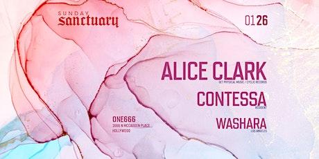 Sunday Sanctuary presents: ALICE CLARK, WASHARA, CONTESSA tickets